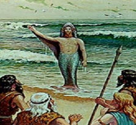 hombre pez