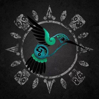 colibrí sagrado